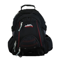 Ridge 53 Bolton Ultra Backpack - Black/Red