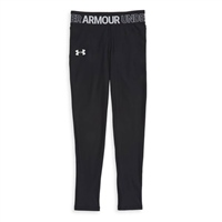 Under Armour Girls HeatGear Armour Leggings - Black