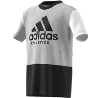 Adidas Boys SID Tee - Grey/Black