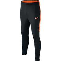 Nike Youths NK Dry Academy Track Pants - Black/Orange