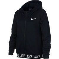 Nike Girls Core Studio FZ Hoodie - Black