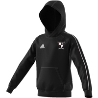 Kilmanahan United FC Core18 Hoody - Youth - Black/White