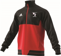 Kilmanahan United FC Tiro17 Poly Jacket - Youth - Black/Scarle/White
