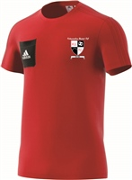 Kilmanahan United FC Tiro17 T-Shirt - Youth - Scarle/Black/White