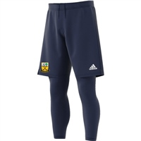 Beagh Hurling Condivo18 2In1 Short - Navy/White