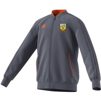 Beagh Hurling Condivo18 Poly Jacket - Onix/Orange