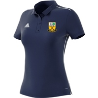 Beagh Hurling Core18 Polo - Womens - Navy/White