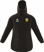 Beagh Hurling Jacket18 Stadium Parka - Black/White