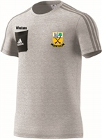 Beagh Hurling Tiro17 T-Shirt - Grey/Black/White