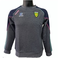 ONeills Donegal GAA Dillon Sweat Top - Womens - Marine/Pink/Honeydew