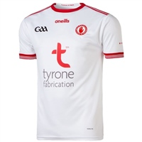 ONeills Tyrone GAA Home Jersey 2019 - White/Red