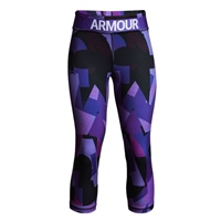 Under Armour Girls HeatGear Armour Nov. Capri - Purple