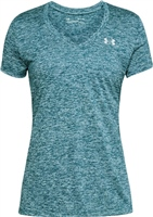 Under Armour Womens Tech SSv S/S T-Shirt - Green