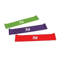 "UFE Urban Fitness Resistance Band Loop 12""  - Light - Purple"