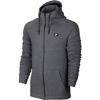 Nike Mens Modern Full Zip Hoodie - Grey