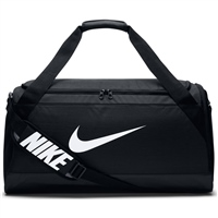Nike Brasilia Duffel Bag (Medium) - Black/White