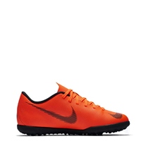 Nike Jr VaporX 12 Club GS Turfs - Orange/Black