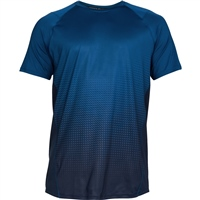 Under Armour Mens MK1 Dash Fade T-Shirt - Blue