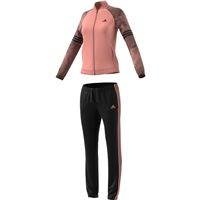 Adidas Womens Tracksuit PES Cosy - Pink/Black