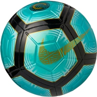 Nike CR7 Official Strike Football - Jade/Black/Gold