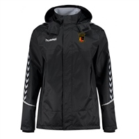 Clane United FC Authentic Charge All Weather Jacket - Youth -Black