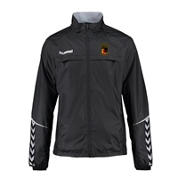 Clane United FC Authentic Charge Functional Jacket - Youth -Black