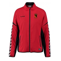 Clane United FC Authentic Charge Micro Zip Jacket - True Red