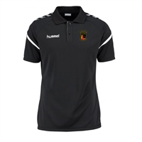 Clane United FC Authentic Charge Polo - Black