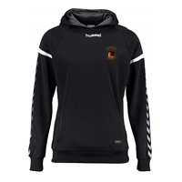 Clane United FC Authentic Charge Poly Hoodie - Youth -Black