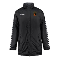 Clane United FC Authentic Charge Stadium Jacket - Youth -Black