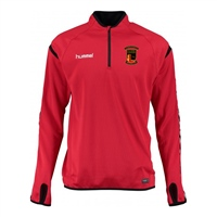 Clane United FC Authentic Charge Training Sweat - Youth -True Red