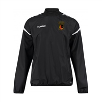 Clane United FC Authentic Charge Windbreaker - Youth -Black