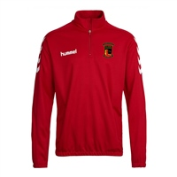 Clane United FC Core Half Zip Sweat - Red
