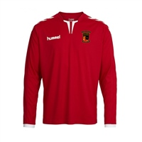 Clane United FC Core Long Sleeve Poly Jersey -  Red