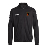 Clane United FC Core Poly Jacket - Black