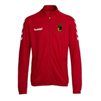 Clane United FC Core Poly Jacket - Red