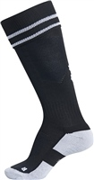 Clane United FC Fundamental Football Sock - Black/White