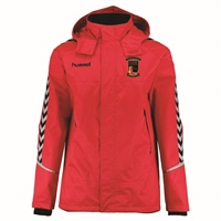 Hummel Authentic Charge All Weather Jacket - Youth -True Red/Black
