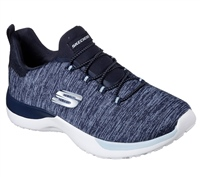 Skechers Womens Dynamight Break-Through - Navy/Sky