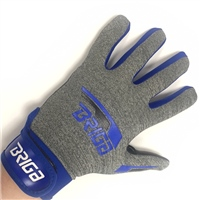 Briga Gaelic Glove - Grey/Royal