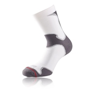 1000 Mile Ladies Athletic Fusion Sock - White/Grey