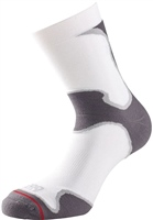 1000 Mile Mens Athletic Fusion Sock - White/Grey