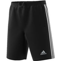 Adidas Mens D2M 3Stripe Shorts - Black