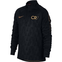 Nike Kids CR7 Dry Academy Drill Top - Black/Gold
