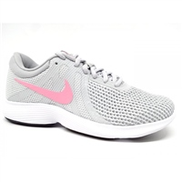 Nike Womens Revolution 4 EU - Grey/Pink