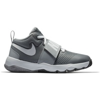 Nike Boys Team Hustle D 8 (GS) - Grey/White
