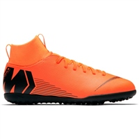 Nike Jr Superfly 6 Club TF Trainers -Kids - Orange/Black