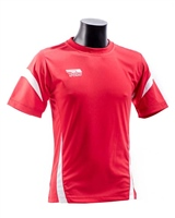 Briga Core Training Tee - Red/Wht