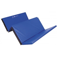 Sure Shot Foldable Double Mat 8ft X 4ft X 50mm - Blue
