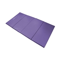 Sure Shot Foldable Double Mat 8ft X 4ft X 50mm - Purple